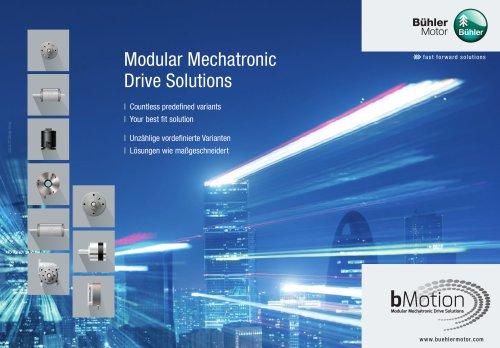 bMotion Modular Mechatronic Drive Solutions
