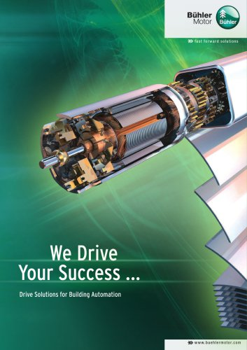 Drive Solutions for Building Automation