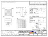 """LDM-08288MI LED Displays Thru-Hole Dot Matrix 8 x 8 .80"""""""