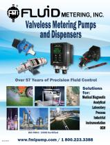 Fluid Metering Pumps & Dispensers