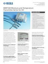 Moisture and Temperature Transmitter Series for Oil.
