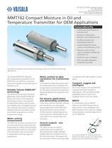 On-Line Moisture in Oil Dection Transmitter MMT162