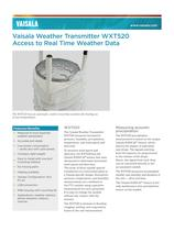 Vaisala Weather Transmitter WXT520