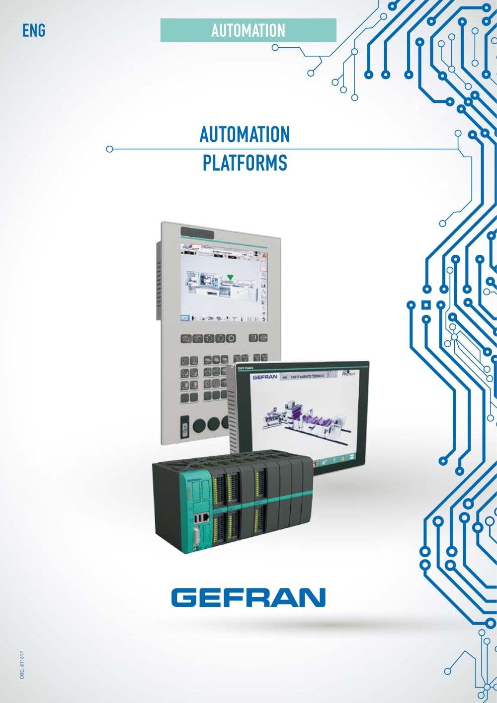 Automation Platforms Gefran Pdf Catalogue Technical