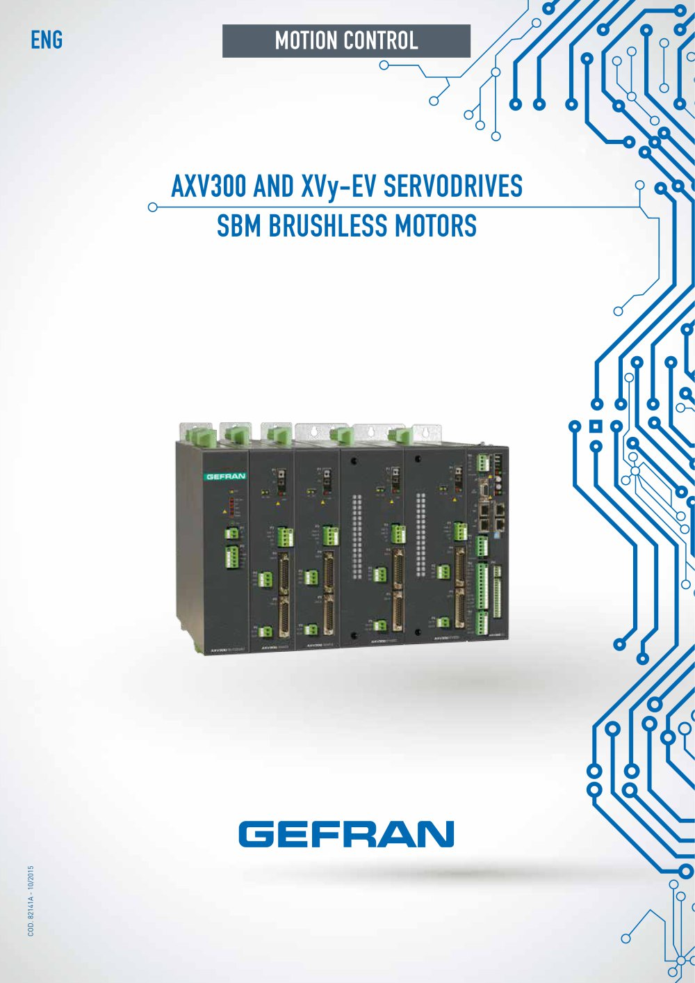 Axv300 And Xvy Ev Servodrives Sbm Brushless Motors Gefran Pdf Solid State Relay 1 16 Pages