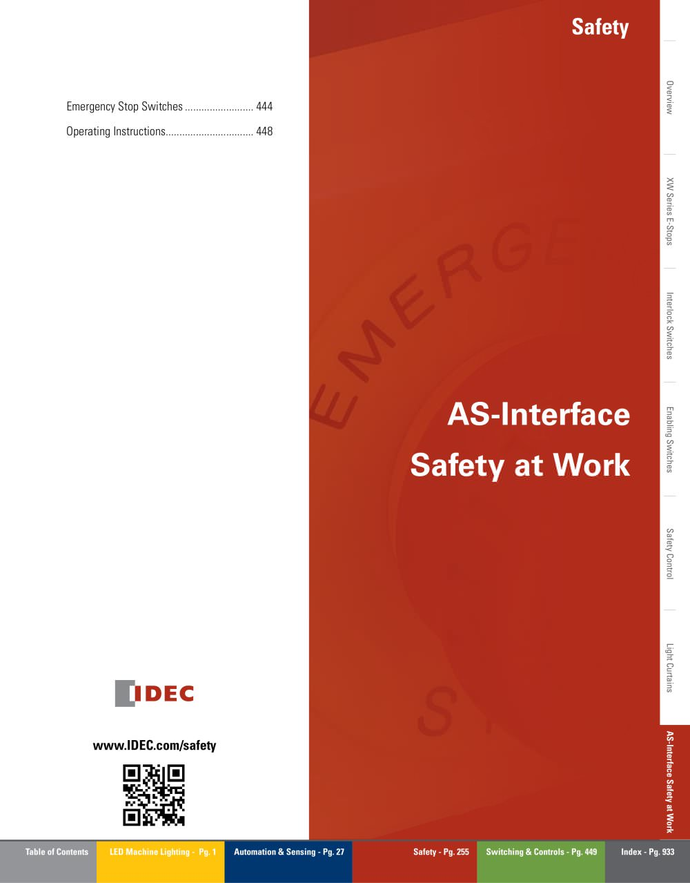 Complete As Interface Safety At Work Idec Pdf Catalogue How Does A Circuit Breaker Work1 1 8 Pages