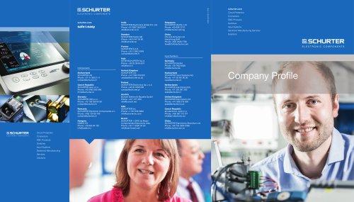 SCHURTER Company Profile - SCHURTER - PDF Catalogs