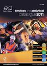9455 EA Services & Analytical Catalogue