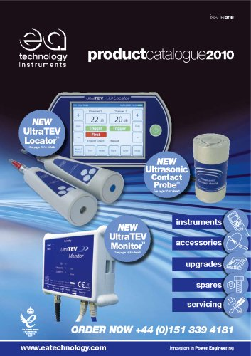 EA Technology Instruments Catalogue