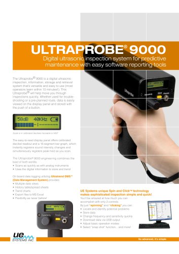 ULTRAPROBE 9000ATEX - UE SYSTEMS - PDF Catalogs | Technical