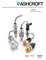 Pressure Switches - Type A-Series 
