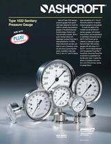 Sanitary Gauges - Type 1032 