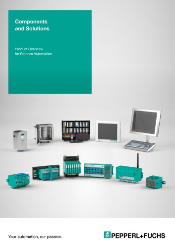 Components and Solutions for Process Automation - Pepperl+Fuchs AG