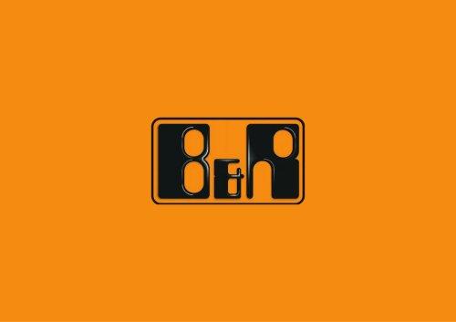 company brochure  B&R
