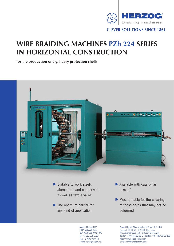 Wire Harness Braiding Machine B10 32h - Dolgular.com