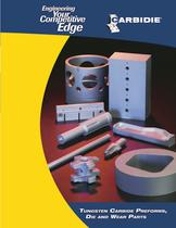 Tungsten Carbide Preforms, Die and Wear Parts