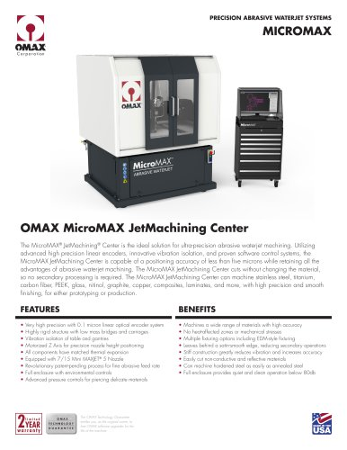 MICROMAX - OMAX - PDF Catalogs | Technical Documentation