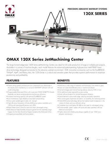 OMAX Model 60120 - OMAX - PDF Catalogs | Technical