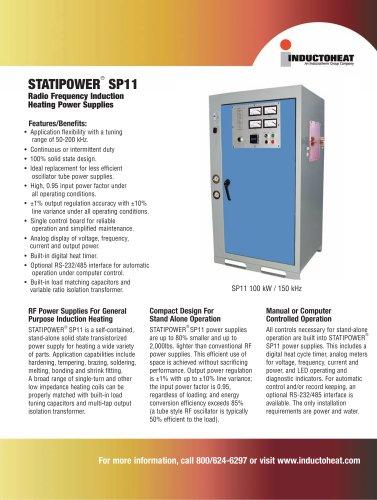 STATIPOWER® SP11 - Inductoheat Europe GmbH - PDF Catalogs