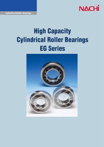 High Capacity Cylindrical Roller Bearings EG Series