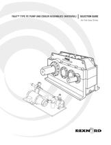 Falk� Selection Guide, Type PC Pump And Cooler Assemblies, A-Plus, Drive One, Type Y