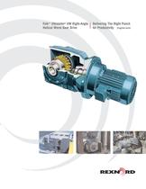 Falk? Ultramite® UW Right-Angle Helical Worm Gear Drive