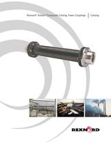 Rexnord Addax Composite Cooling Tower Coupling Catalog