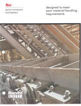 Rexnord® Apron Conveyors and Feeder Catalog