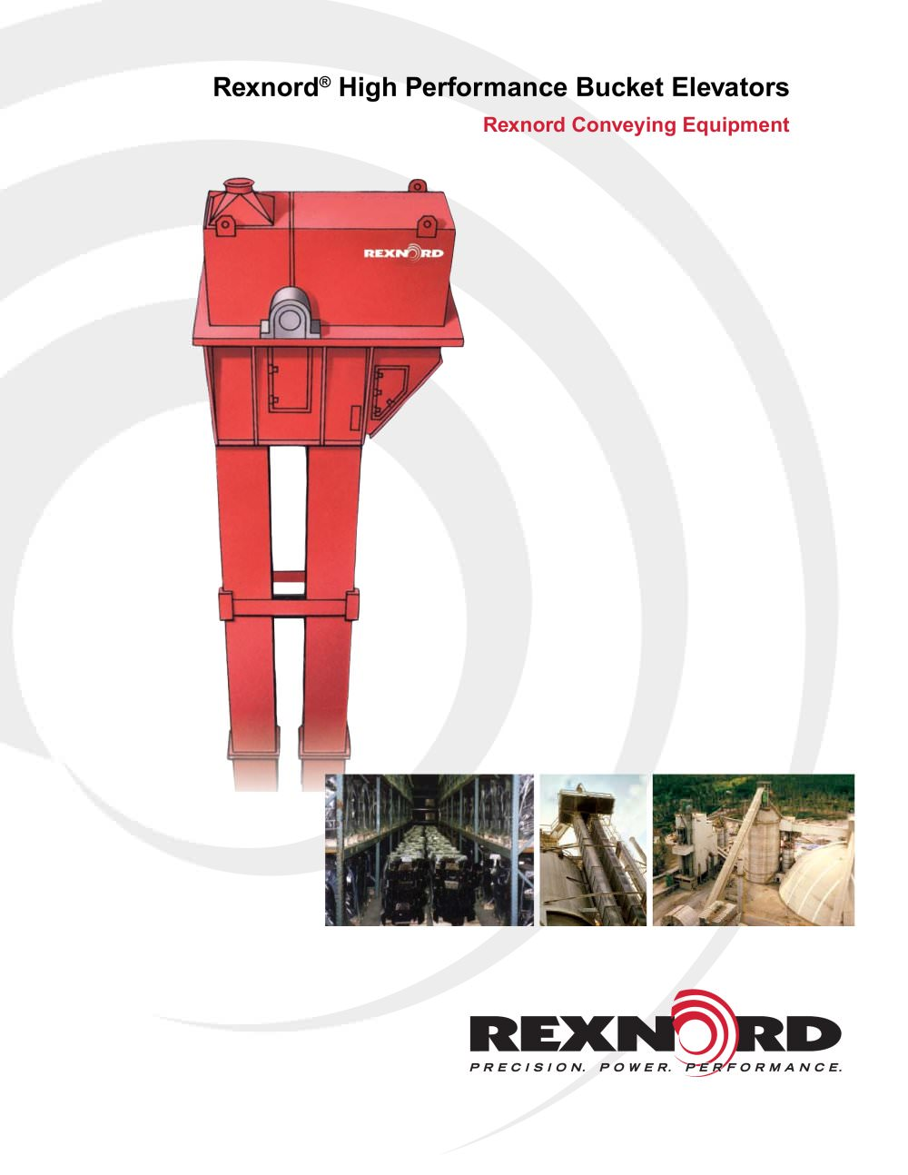 rexnord high performance bucket elevator catalog rexnord rh pdf directindustry com Bucket Elevator Components Grain Bucket Elevators