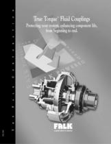 True Torque Fluid Couplings Selection Guide Type HF