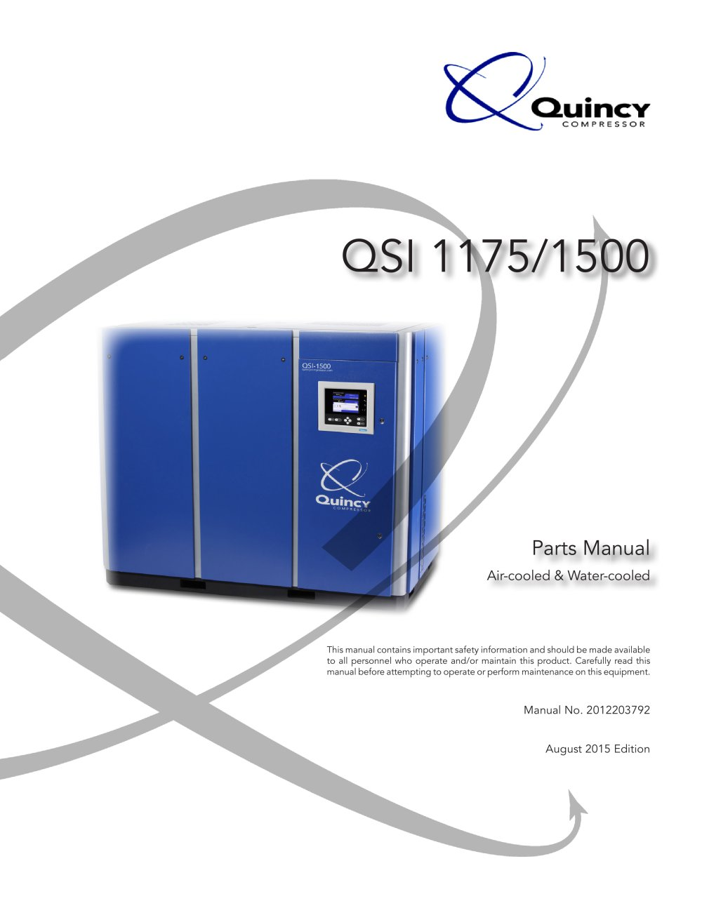 QSI 1175-1500 - 1 / 74 Pages