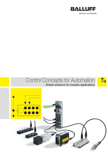 control concepts for automation balluff gmbh pdf catalogue rh pdf directindustry com
