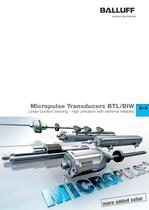 Micropulse Transducers BTL/BIW