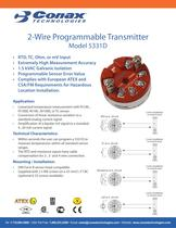 2 Wire Programmable Transmitter  - 5331D