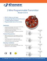2 Wire Programmable Transmitter - Model 5331A