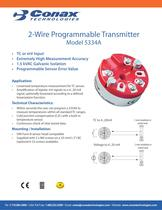 2 Wire Programmable Transmitter - Model 5334A