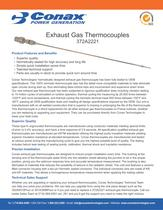 Exhaust Gas Sensors - Bulletin