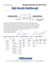 High Density Feedthroughs -  Bulletin 6018