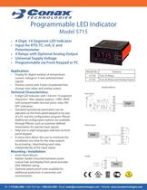 Programmable LED Indicator - Model 5715