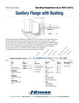 Sanitary Flange with Bushing