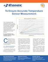 Ten Tips to Ensure Accurate Temperature Measurement - Bulletin 6051
