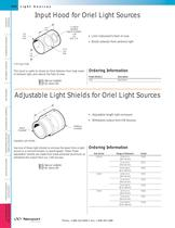 Adjustable Light Shields for Light Sources