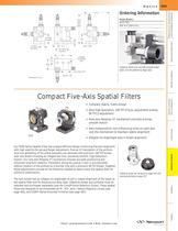 Compact Five-Axis Spatial Filters