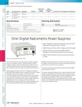 Digital Radiometric Power Supplies