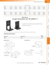 EQ3 Series Angle Brackets for M-UMR3.5
