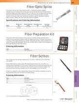 Fiber Optic Scribes