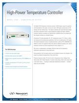 High-Power Temperature Controller, Model 3700-336W Bipolar Output