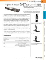 IMS Series High-Performance Long-Travel Linear Stages
