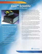 Low Power CW 488 nm Lasers- Cyan� Scientific