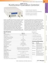 Multifunction Polarization Controller